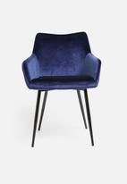Sixth Floor - Moken dining chair - navy