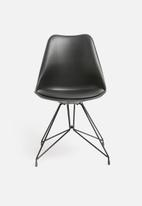 Sixth Floor - Boston chair - black