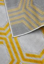 Sixth Floor - Honeycombe outdoor rug - yellow