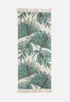 Sixth Floor - Oliana printed runner - green