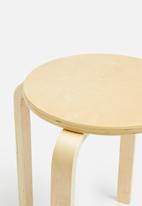 Sixth Floor - Emba stool - natural