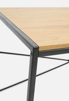 Sixth Floor - Seaford desk - natural/black