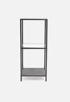 Sixth Floor - Seaford wall unit small - black
