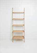Sixth Floor - Wall bookshelf wide - natural