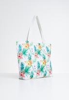 POP CANDY - Flower printed handbag - multi