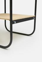 Sixth Floor - Sammy bedside table - black