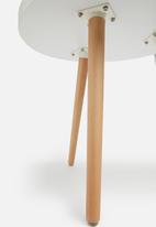 Sixth Floor - Alva side table - white