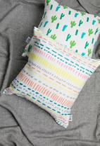 Sixth Floor - Pippin kids cushion cover - multi