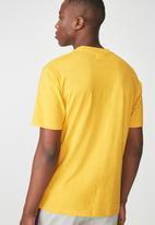 Cotton On - Tbar short sleeve tee - gold