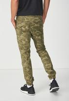 Cotton On - Drake cuffed pant - khaki