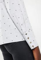 ONLY - Dante long sleeve shirt - grey