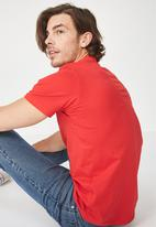 Cotton On - Essential crew neck tee - red