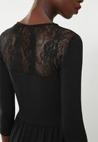 ONLY - Niella lace dress - black