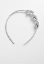 POP CANDY - Star detail headband - silver