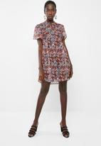 Vero Moda - Power 2/4 short dress - multi