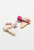 POP CANDY - Ice-cream detail hair clip - multi
