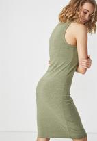 Cotton On - Lena midi dress - green