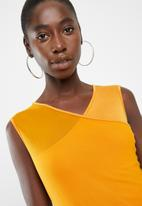 DAVID by David Tlale - Victoria top - yellow