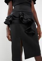 DAVID by David Tlale - Zindzi pencil skirt - black