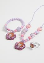 Character Fashion - Sofia the first 3 piece necklace set - multi