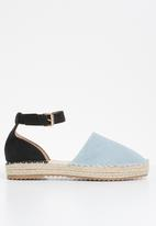 Superbalist -  Luna espadrille - blue & black