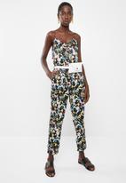 Vero Moda - Lily rose loose pants - black