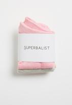Superbalist - 3 Pack lowcut socks - multi