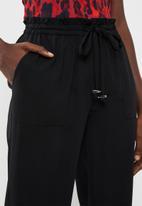 Vero Moda - Dylan high waist pant - black