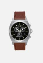 Nixon - Time teller chrono - black & brown