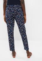 Vero Moda - Saga string pants - navy