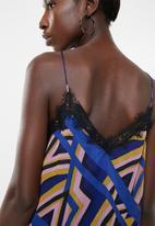Vero Moda - Rome lace singlet - blue