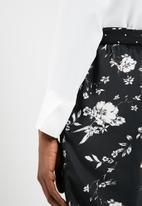 Vero Moda - Freya long sleeve shirt bodysuit - white