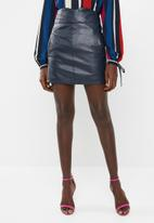 Vero Moda - Connery short skirt - navy
