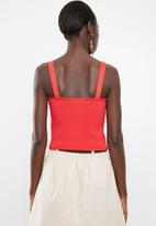Vero Moda - Sanders top - red