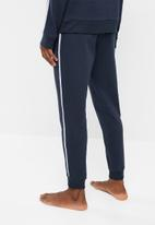 Superbalist - Piping slim sweat jogger - navy