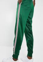 Superbalist - Tricot taped trackpants - green
