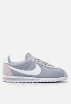 Nike - Classic Cortez Nylon - wolf grey/white