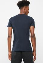 Brave Soul - Fort t-shirt - navy