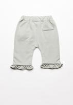POP CANDY - Detailed butterfly leggings - grey