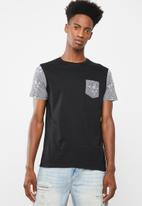 Brave Soul - Indra t-shirt - black