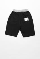 POP CANDY - Elasticated shorts - black