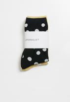 Superbalist - 2 pack polka dot ankle socks - multi