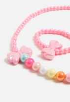 POP CANDY - Necklace and bracelet design set - multi