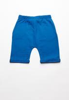Superbalist - Contrast jogger shorts - blue