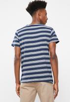 Brave Soul - Gravel tshirt - navy