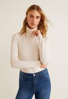 MANGO - Jane skinny jeans - blue