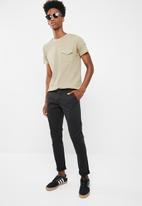 Brave Soul - Casual chino pants - black