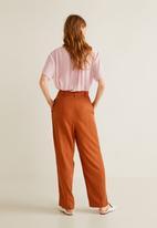 MANGO - Turtleneck blouse - pink