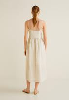 MANGO - Pocket detail dress - beige