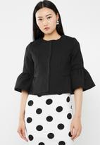 Vero Moda - Miss short jacket - black